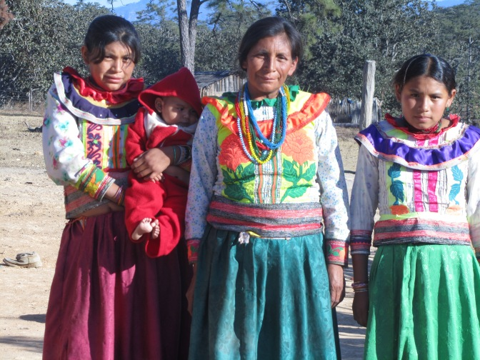 Some of my Nahuatl friends.