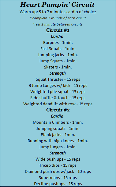 Heart Pumping Circuit