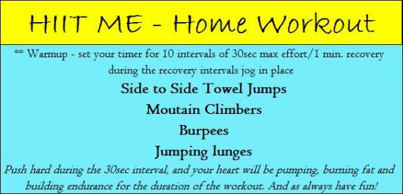 HIIT ME  Workout