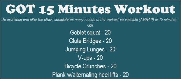 15 Minute Legs + Abs
