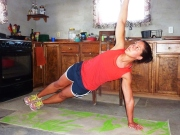 High Side plank